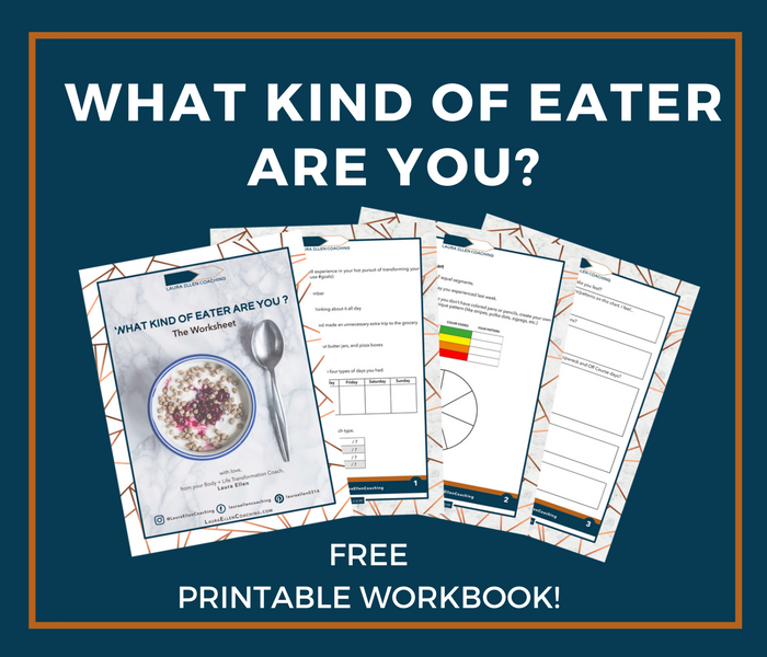 What Kind of Eater Are You? FREE Printable Workbook