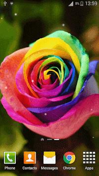 3D Rose Live Wallpaper HD Poster