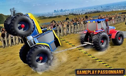 TIREZ match tracteur Jeux  captures d'écran 2