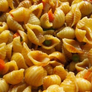 Sopa de Conchas (Shell Pasta Soup).