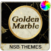Golden Marble Theme for Xperia