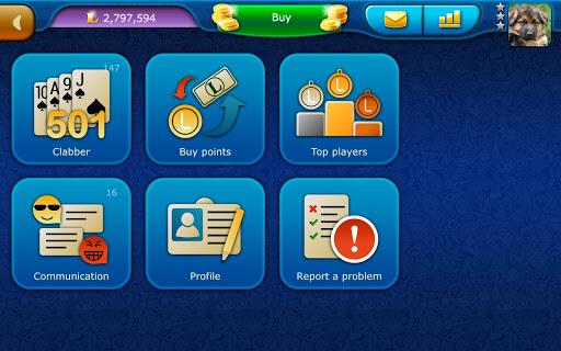 Clabber LiveGames - free online card game screenshots 18