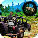 Bear Hunting on Wheels 4x4 - FPS Shooting Game 18 icon