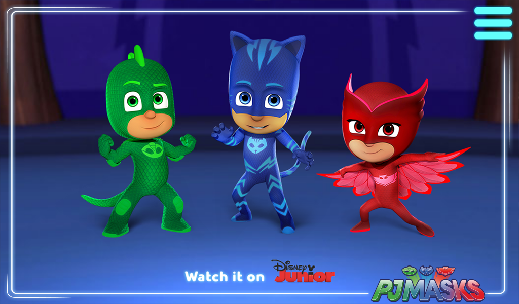 PJ Masks: Web App- screenshot