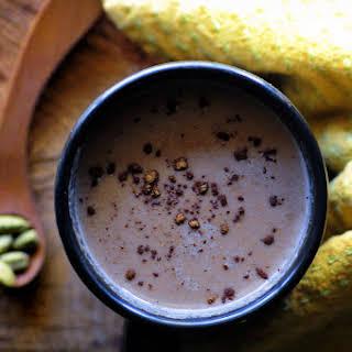 Hot Cardamom Tahini Cacao (Gluten Free, Vegan).