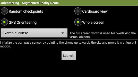 Orienteering AR Demo screenshot 2