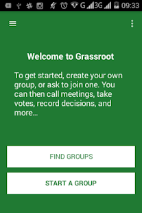 Grassroot for Android- screenshot thumbnail