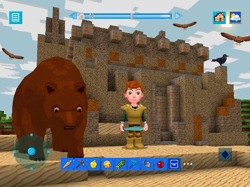 Terra Craft: Build Your Dream Block World modavailable screenshots 13