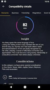 NUiT Astrology Match, Date - náhled