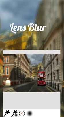 Lens Blur - screenshot