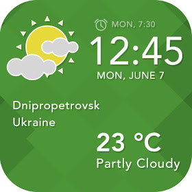 Daily Weather Widget