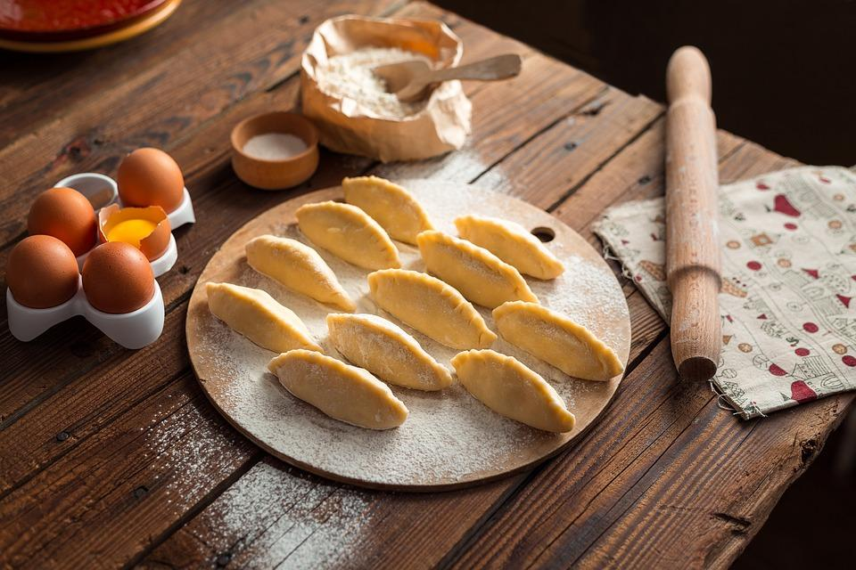 Cooking, Pies, Vareniki, Pelmeni, Cook, Food, Kitchen