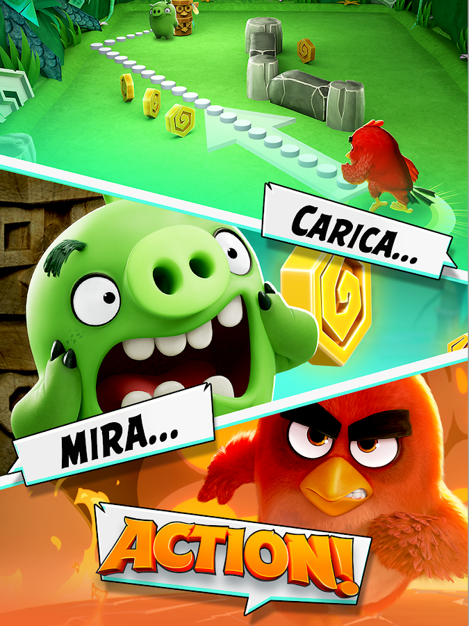 Angry Birds Action!- screenshot