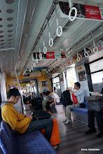 Photo: Monorail in Naha, the capital of Okinawa