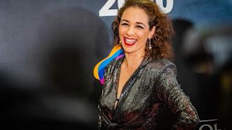 Anabel Veloso, en la última gala de los Premios Círculo Rojo.