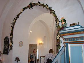 Photo: Prædikestol og korbue