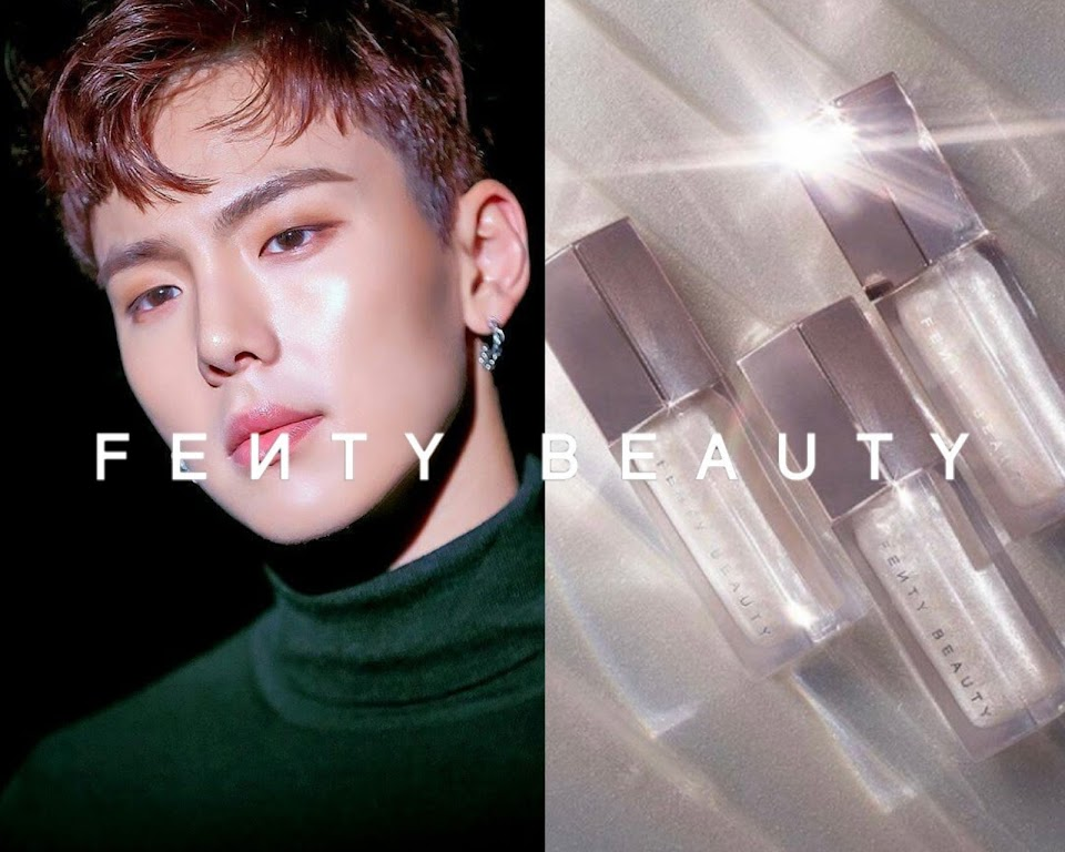 monsta x shownu fenty beauty