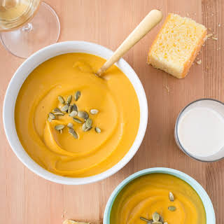 Red Lentil Sweet Potato Soup.