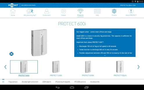 PROTECT Secured in seconds- screenshot thumbnail