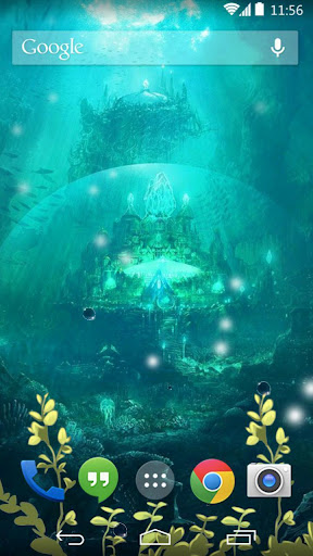undersea live wallpaper