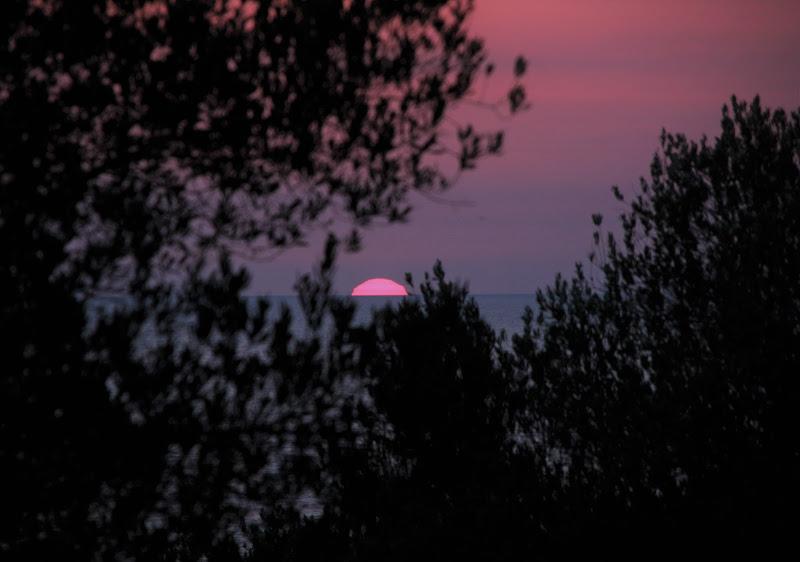 tramonto in mare di FrancescaWagnerL