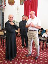 Photo: Patriarcat latin de Jérusalem: avec un représentant du Patriarche