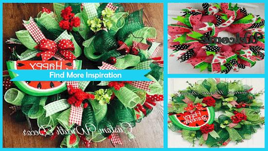 Unique Watermelon Wreath - náhled