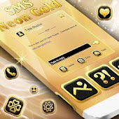 Gold Neon SMS