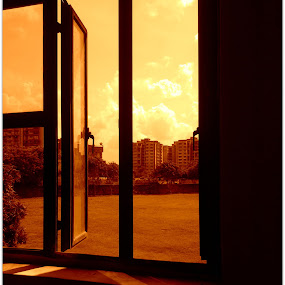 window view.. by Shafaly Sharma - Landscapes Weather ( pwcotherworldly )