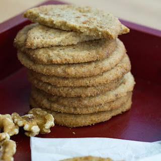 Walnut Cookies.
