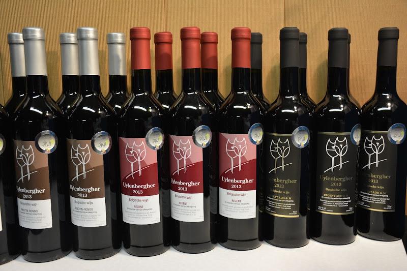 Rode wijnen: Pinotin-Rondo 2013 & 2015 + Regent 2013 & 2015