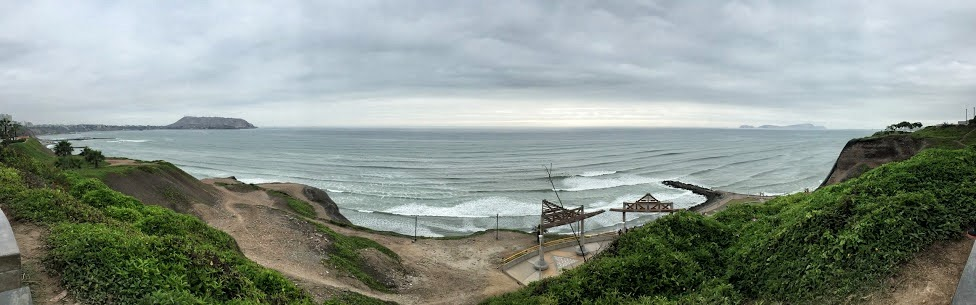 Lima - widok na Ocean Spokojny