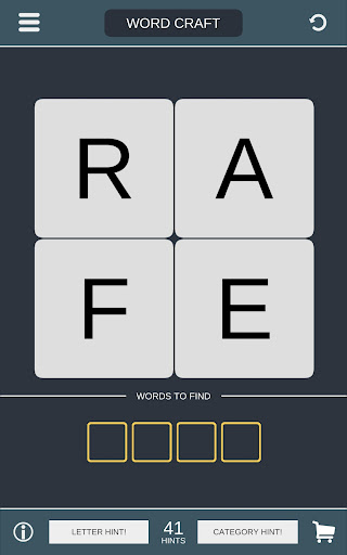 Word Craft - Puzzle on Brain Screenshot