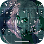 Joker Girl Keyboard Theme HD