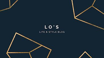 Lo's Life & Style Blog - YouTube Channel Art template