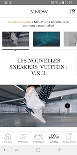 Louis Vuitton Capture d'écran