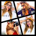 Collage Maker-  Poto Grid, Square fit, music video icon