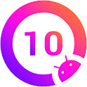Q Launcher for Q 10.0 launcher, Android Q 10 2020 icon