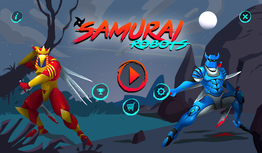 Samurai robots- screenshot thumbnail