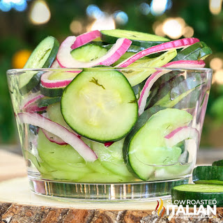 Cucumber Vinegar Salad Recipe