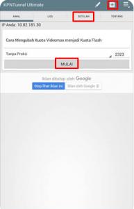 Cara Merubah Kuota Videomax menjadi Kuota Flash dengan KPN Tunnel