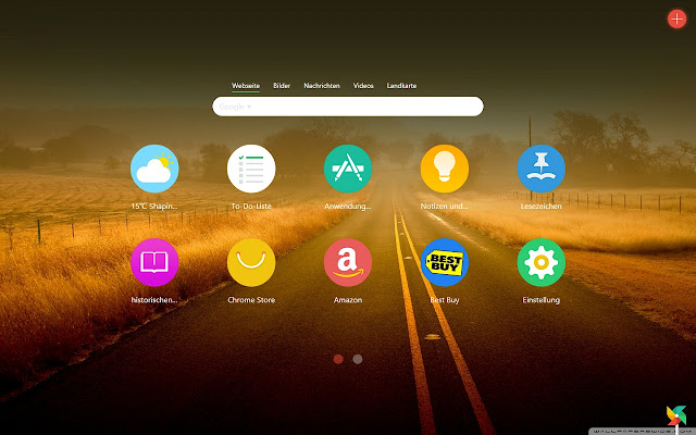 Infinity Neuer Tab - Produktivität&Schnellwahl Screenshot