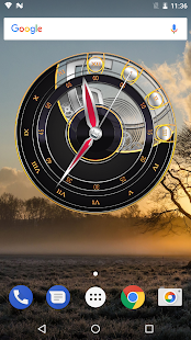 3D Clock Widget with Seconds - náhled