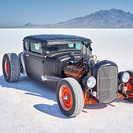 Hot Rod by John Dodson - Transportation Automobiles ( utah, speedweek, speed week, speed week bonneville, 2018 speed week, bonneville, wendover nevada, bonneville salt flats )