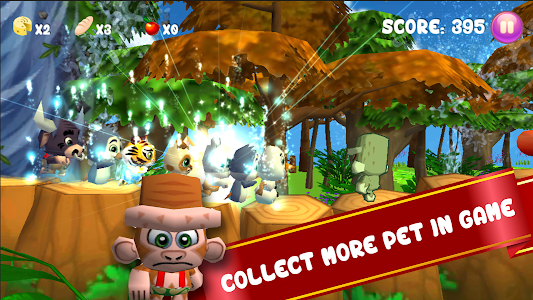 Baby Pet Run: Jungle Adventure screenshot 8