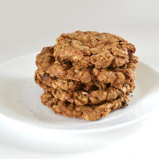 Crunchy Oatmeal Chocolate Chip Cookies Recipe
