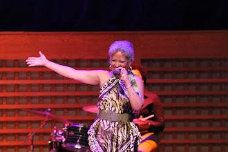 Photo: Sharon Martin performs - Photo courtesy of Peter Nakhid