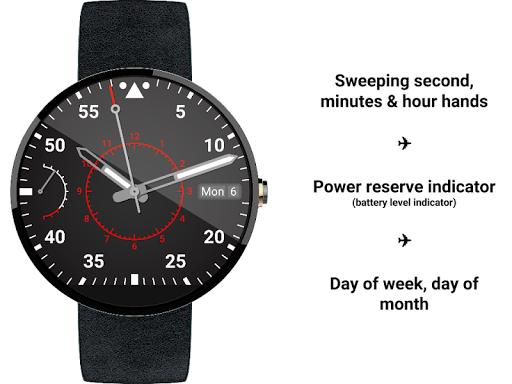 Aviator Timepiece