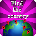 Find the countries - Map Game
