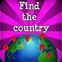 Encontre os países - geo jogo icon